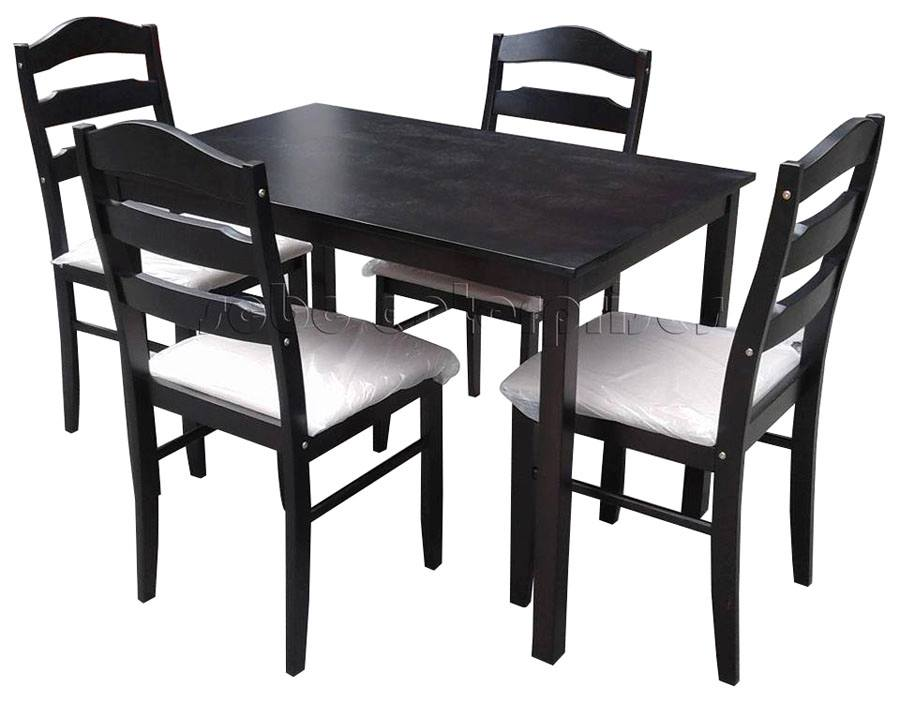Pleasing Wooden Dining Set 4S Code C Ruth Scbc Enterprises Bralicious Painted Fabric Chair Ideas Braliciousco