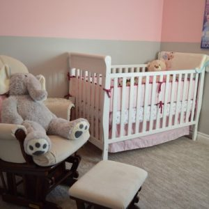 Kiddie Bed and Crib