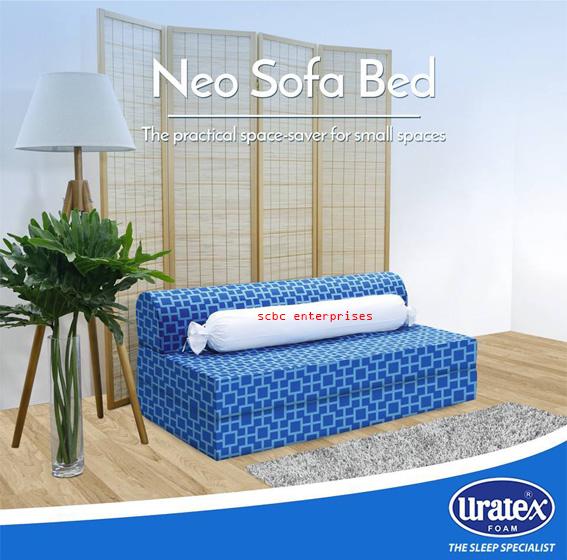 Uratex Neo Sofa Bed 54 Scbc Enterprises